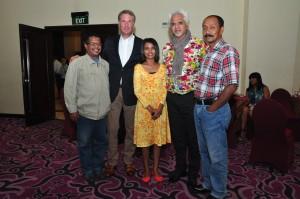 De Nederlandse ambassadeur ontvangt delegatie DeltaDua en MBO